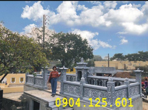 Lắp đặt hoàn thiện khu mộ gia đình