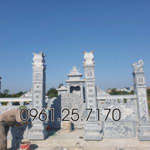 Xây dựng lăng mộ mẹ cha