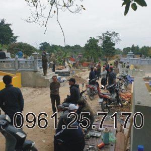 xây dựng mộ đá gia đình